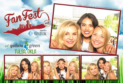 Fan Fest at Guthrie Green May 21st, 2015
