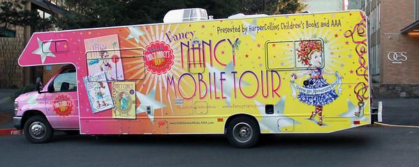 Fancy Nancy Tour Visit