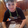 Making bread with Mama