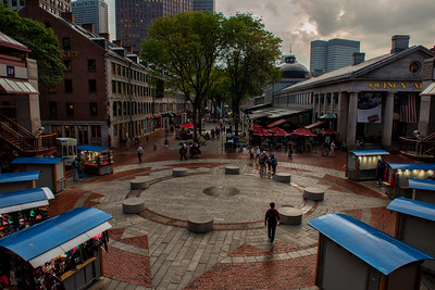 Overlooking Quincy Market