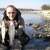 """""""Hatten"""" med dublet fra Hestehave. Marts 2007"""