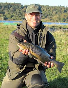 Fjordørred 2,0 kg, 53 cm. Mariager Fjord oktober 2011.