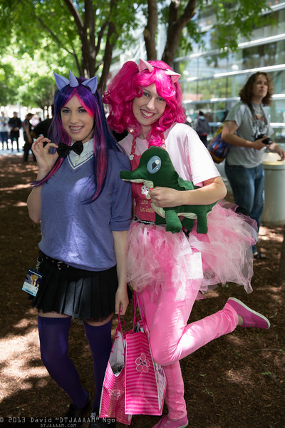 Twilight Sparkle and Pinkie Pie