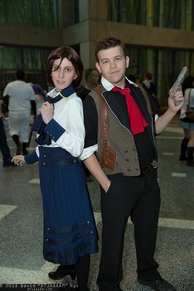 Elizabeth and Booker DeWitt
