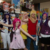 Rarity, Pinkie Pie, Fluttershy, Big McIntosh, Rainbow Dash, and Twilight Sparkle