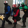 Toad, Mario, and Luigi