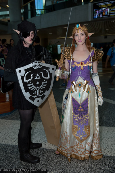 Dark Link and Princess Zelda