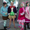 Vanellope von Schweetz, King Candy, Taffyta Muttonfudge, Candlehead and Sour Bill