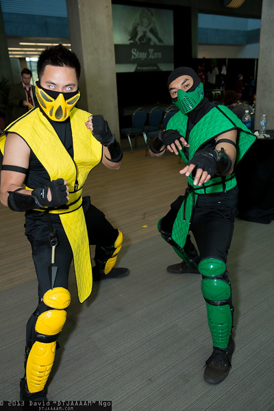Scorpion and Reptile