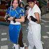 Chun-Li and Ryu