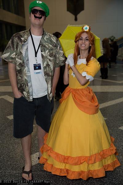 Luigi and Princess Daisy