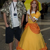Luigi and Princess Daisy