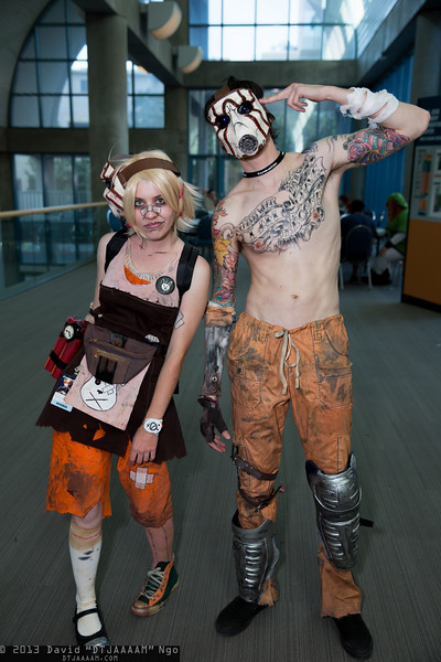 Tiny Tina and Psycho
