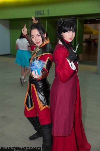 Azula and Mai