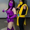 Mileena and Scorpion