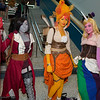 Marceline, Flame Princess, and Lady Rainicorn