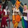 Marceline, Flame Princess, and Lady Rainicorn