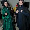 Minerva McGonagall and Severus Snape