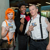 Leeloo, Ruby Rhod, and Korben Dallas