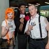 Leeloo, Ruby Rhod, and Korben Dallas