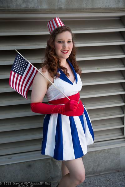 USO Girl