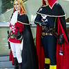 Emeraldas and Captain Harlock