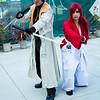 Shinomori Aoshi and Himura Kenshin