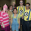Edith, Margo, Felonius Gru, Agnes, and Minions