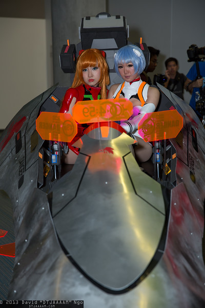 Asuka Langley Soryu and Rei Ayanami