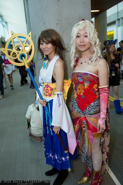 Yuna and Terra Branford