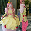Princess Bubblegum and Prince Gumball