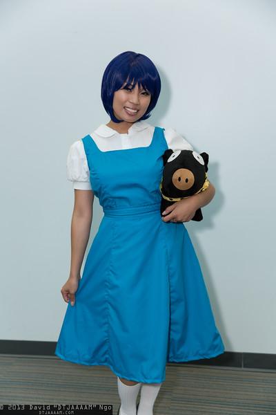 Akane Tendo and P-Chan