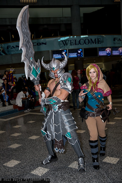 Tryndamere and Lux