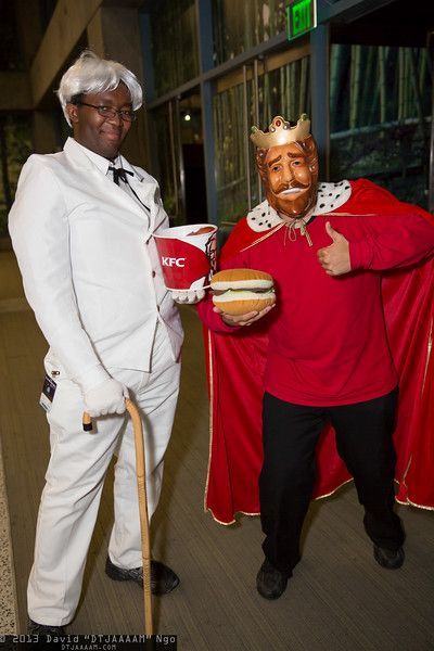 Colonel Sanders and King