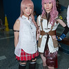 Serah Farron and Lightning
