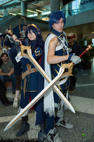 Lucina and Chrom