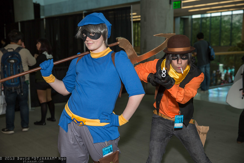 Sly Cooper and Kid Cooper