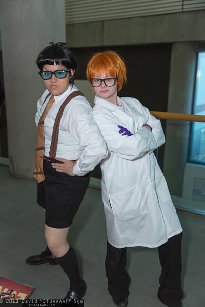 Mandark and Dexter