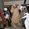 Lock, Barrel, Oogie Boogie, Mayor of Halloween Town, and Zero