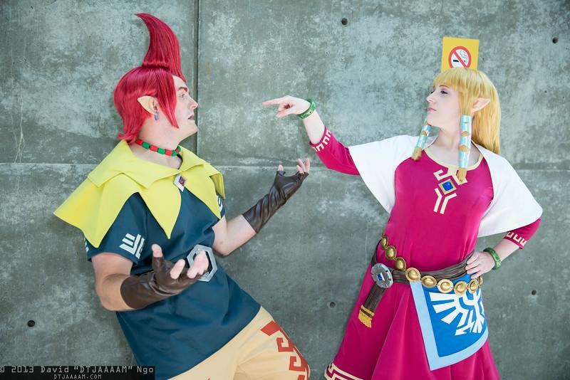 Groose and Princess Zelda