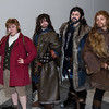 Bilbo Baggins, Kili, Thorin Oakenshield, and Fili