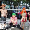 Portgas D. Ace, Roronoa Zoro, Nami, and Monkey D. Luffy