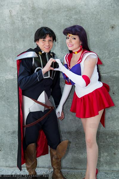 Prince Darien and Sailor Mars
