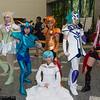 Aquila Yuna, Dragon Ryuho, Lionet Souma, Orion Eden, Hornet Sonia, and Aria