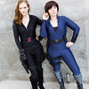 Black Widow and Maria Hill