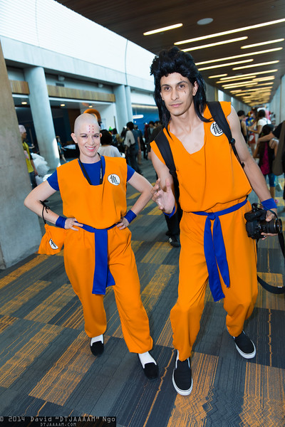 Krillin and Yamcha
