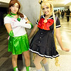 Sailor Jupiter and Sailor Moon