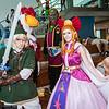Link, Loftwing, Ganondorf, and Princess Zelda