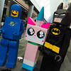 Benny, Unikitty, and Batman