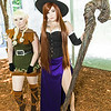 Elf and Sorceress